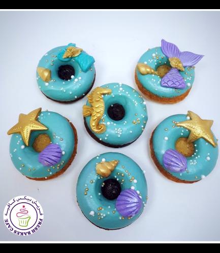 Mermaid Themed Donuts 02 - Green