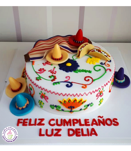 Mexican Themed Cake 02