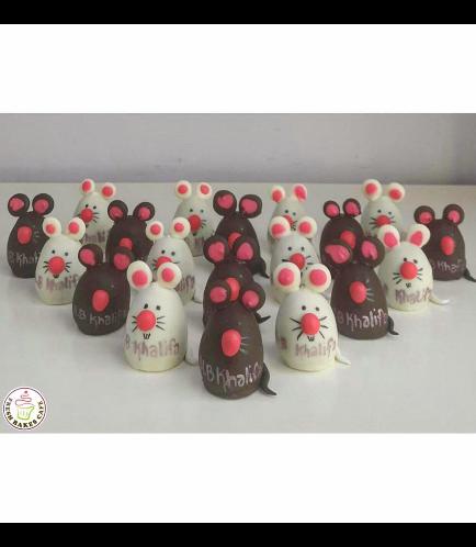 Mice Themed Cake Pops w/o Sticks 01