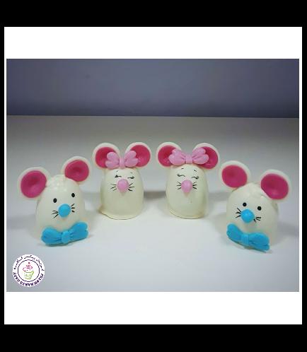 Mice Themed Cake Pops 4