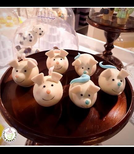 Mice Themed Cake Pops w/o Sticks 02