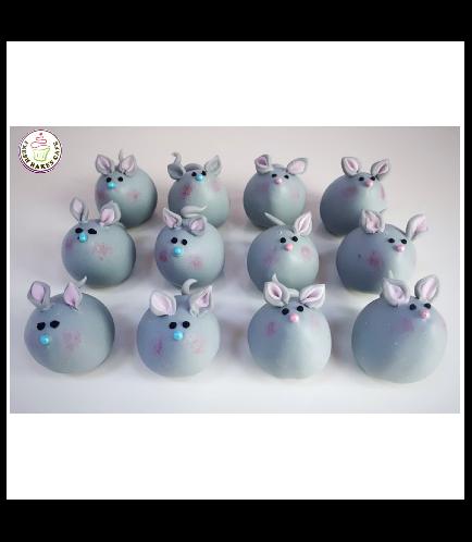 Mice Themed Cake Pops w/o Sticks 03