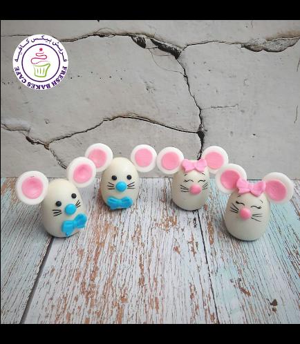 Mice Themed Cake Pops w/o Sticks 04