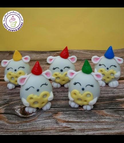 Mice Themed Cake Pops w/o Sticks 05
