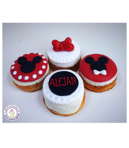 Mickey & Minnie Mouse Themed Donuts