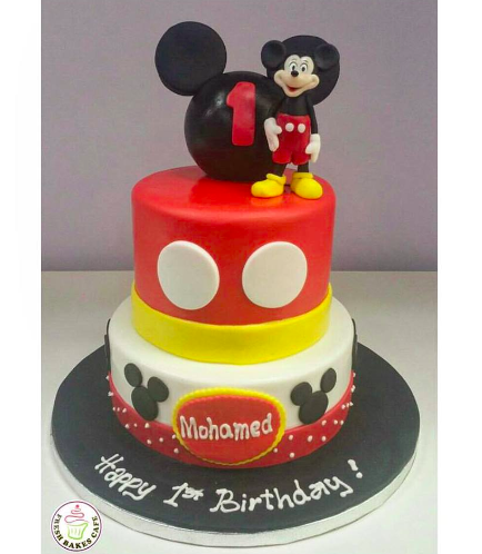 Mickey Mouse Themed Cake 02