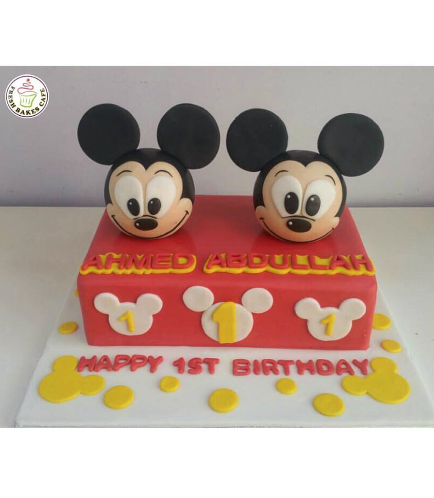Mickey Mouse Themed Cake 12
