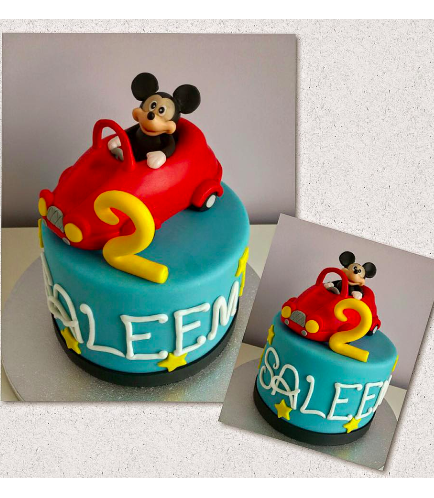 Mickey Mouse Themed Cake 03