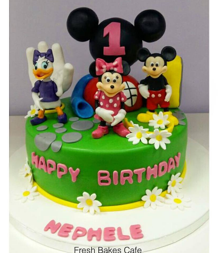 Cake - Mickey Mouse Clubhouse 02