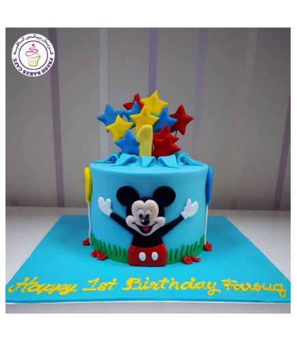 Mickey Mouse Themed Cake 24