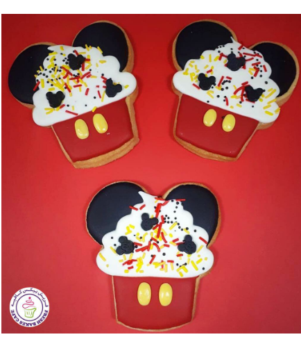 Mickey Mouse Themed Cookies 07