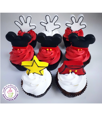 Mickey Mouse Themed Cupcakes 03