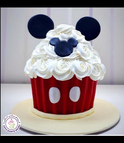 Mickey Mouse Themed Mega Cupcake 02