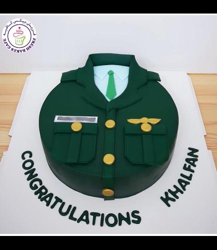 Cake - Abu Dhabi Police Uniform 04