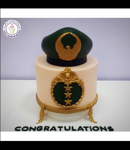 Cake - Military - Cap 01