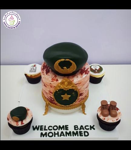 Cake - Military - Cap 02b