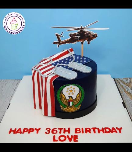 Cake - Flag - USA Flag & Printed Pictures