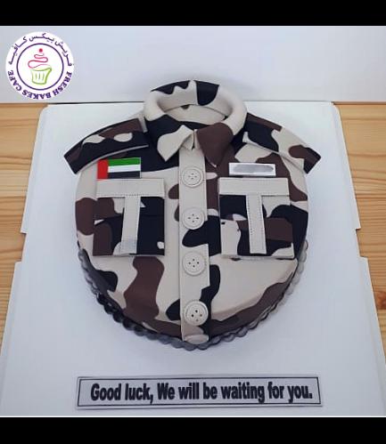 Cake - Military - Uniform - Round 10