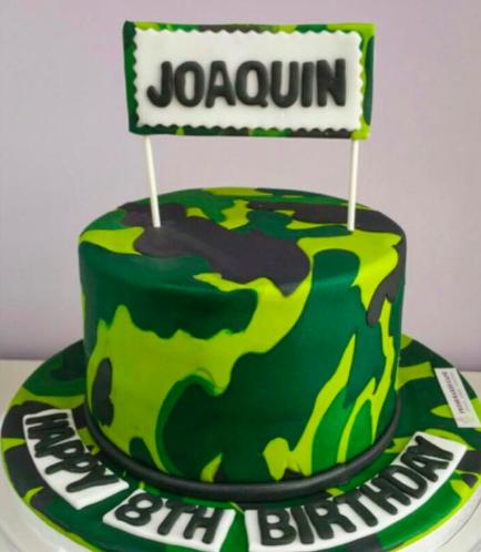 Cake - Army Camo 02