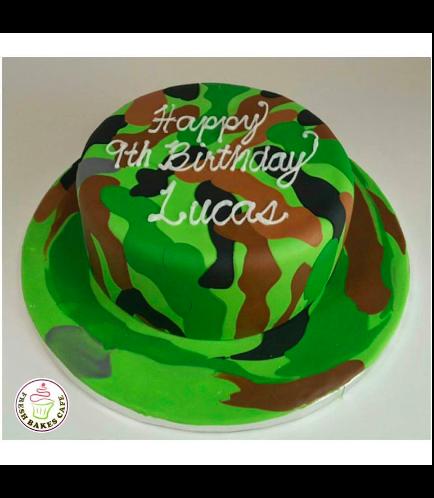 Cake - Army Camo 01