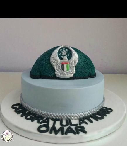 Cake - Abu Dhabi Police Cap 01
