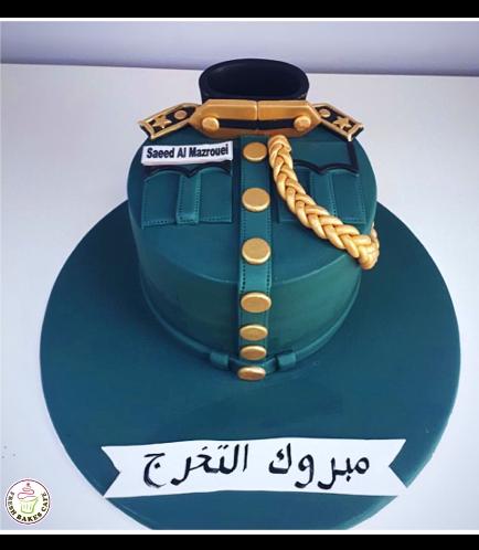 Cake - Abu Dhabi Police Uniform 05