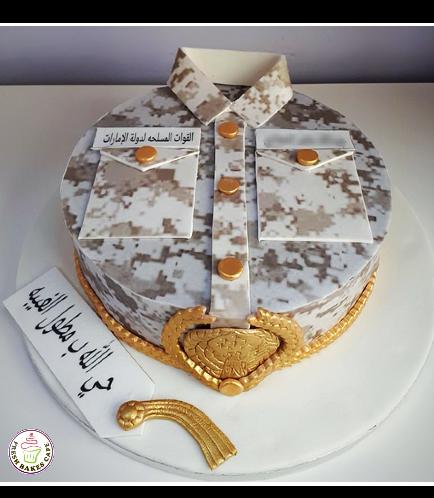 Cake - Military - Uniform - Round 09