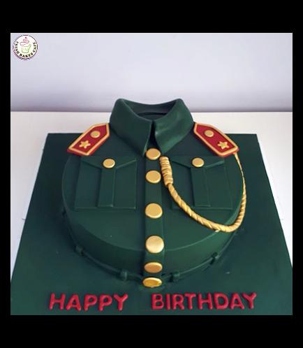 Cake - Abu Dhabi Police Uniform 06