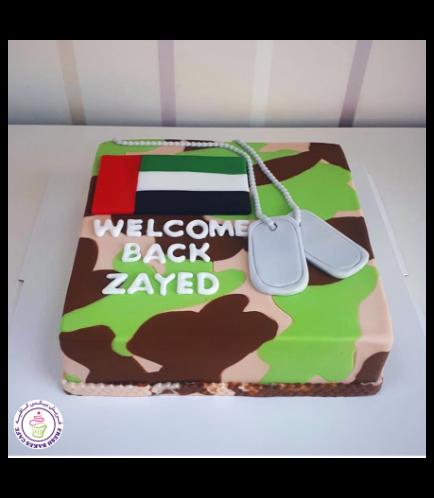Cake - Military 01