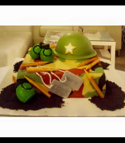 Cake - Army Camo 03