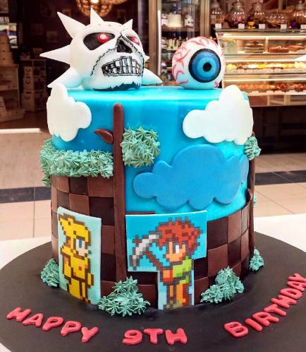 Minecraft Themed Cake 10