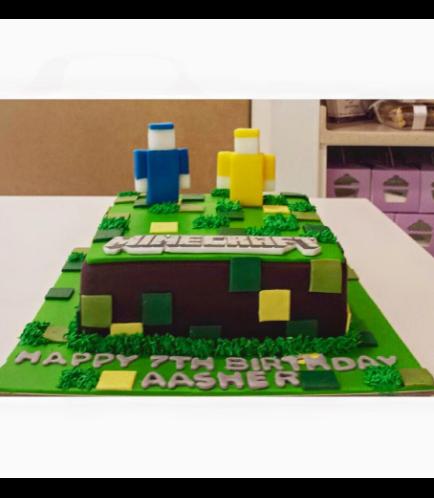Minecraft Themed Cake 11