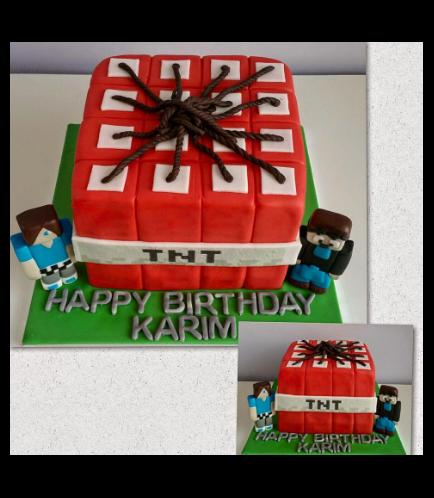 Minecraft Themed Cake 13