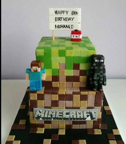 Minecraft Themed Cake 21