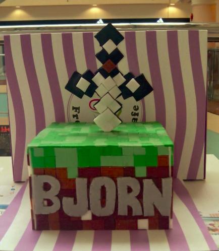 Minecraft Themed Cake 03