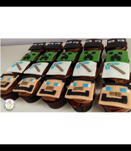 Minecraft Themed Cupcakes 03