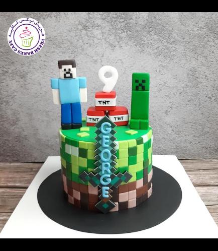 Cake - Sword - Printed - 3D Characters - 1 Tier 02b