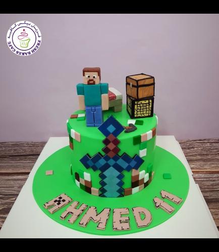 Cake - Sword - Printed - 3D Characters - 1 Tier 03