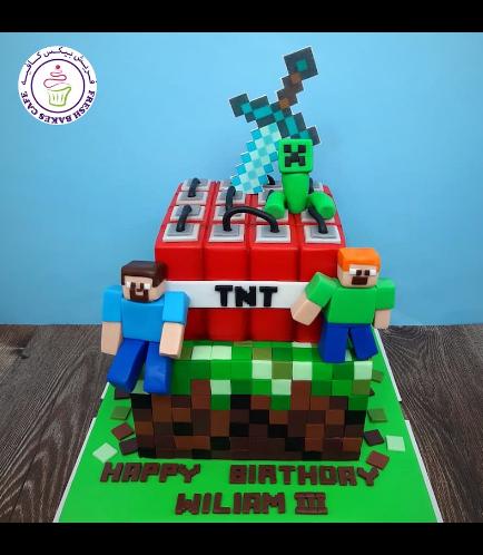 Cake - Sword - Printed - 3D Characters - 2 Tier 02