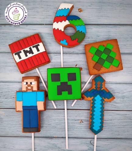 Cookies - Royal Icing - Sticks