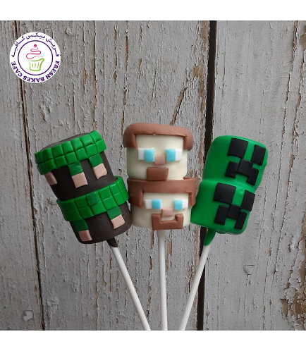 Marshmallow Pops - 2 Pices