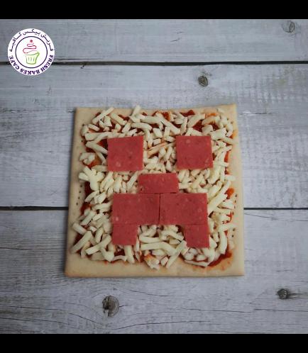 Minecraft Themed Pizza