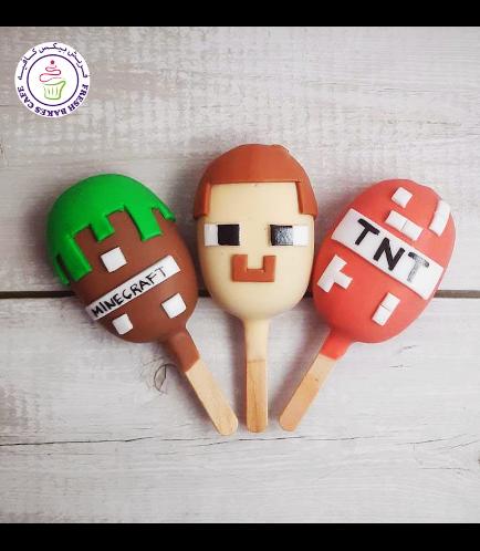 Minecraft Themed Popsicakes 03