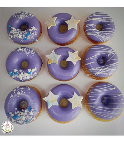 Colorful Donuts - Purple 02