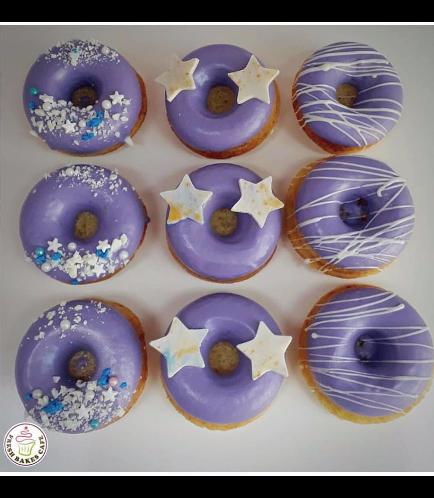 Purple Donuts