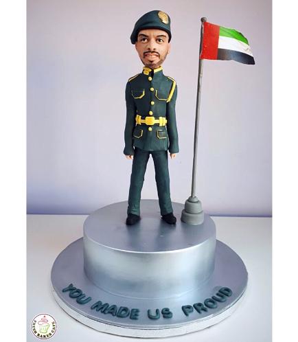 Man Themed Cake - 3D Character - Mini Me 02a