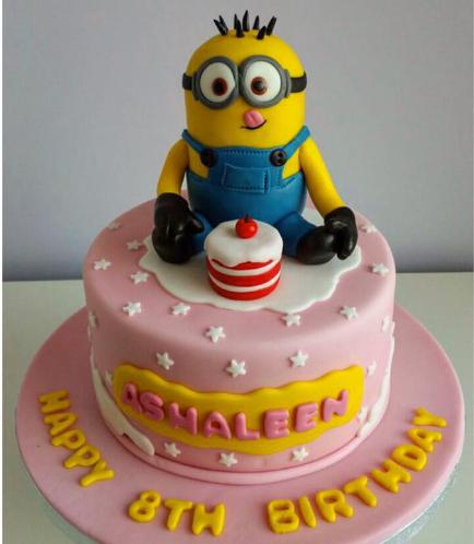 Cake - 3D Cake Topper 02
