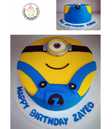 Minions Themed Cake 13