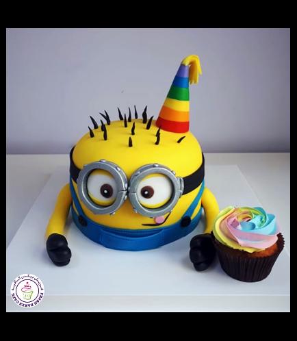Cake - 2D Half Body - Dome Shape 02