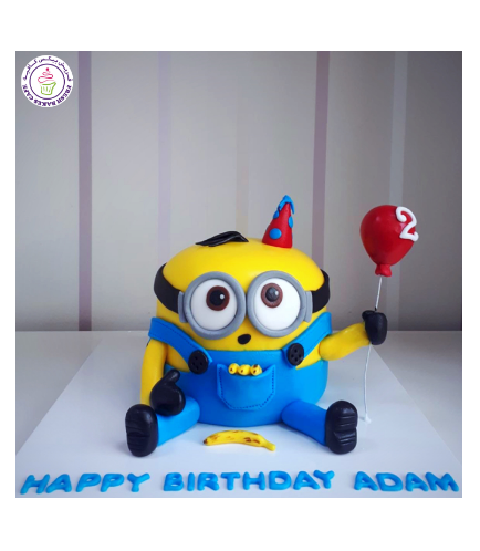 Minions 2D Themed Cake 11